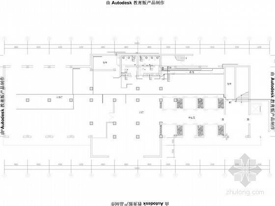 [吉林]三层饭店给排水排风施工图