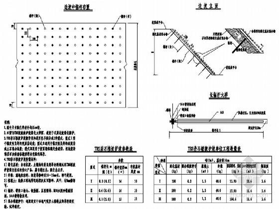 I级公路路基防护工程设计图