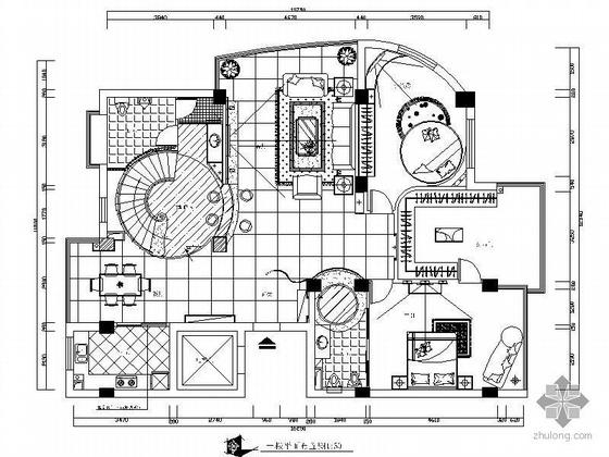 [广州]复式楼设计装修图