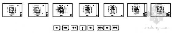 三室一厅全套施工图