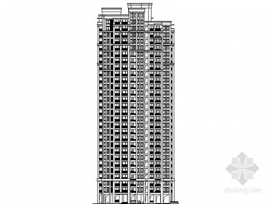 [镇江]某居住区二十八层塔楼建筑施工图(3号楼)