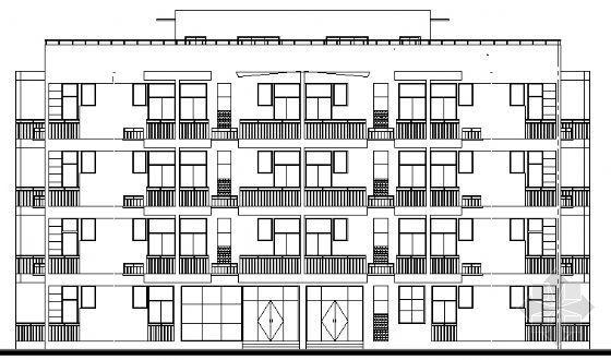 某四层宿舍楼建筑施工图