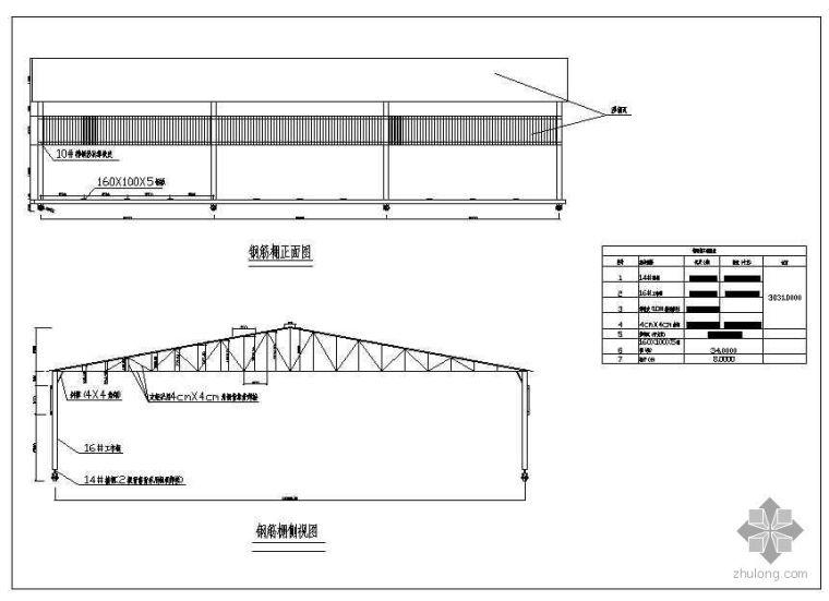 移动式钢筋加工棚设计图