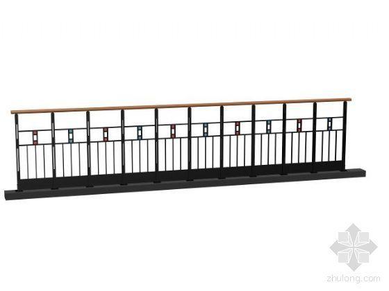 栏杆模型3