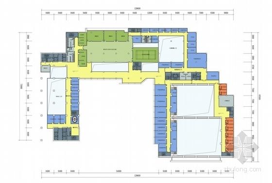 [合肥]大跨度空间广告及电视购物办公综合体建筑设计方案文本(含CAD)-图8