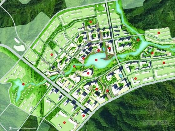[四川]滨水城市开发区总体发展战略规划方案(著名设计机构)