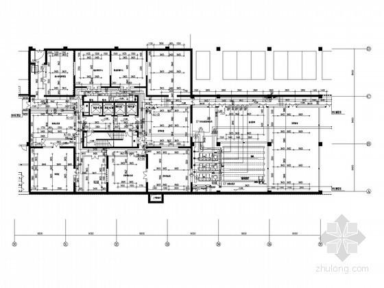 [北京]大型商业中心双层地下室给排水及消防施工图(顶级设计院)