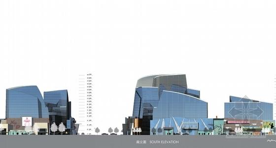 城市规划立面图