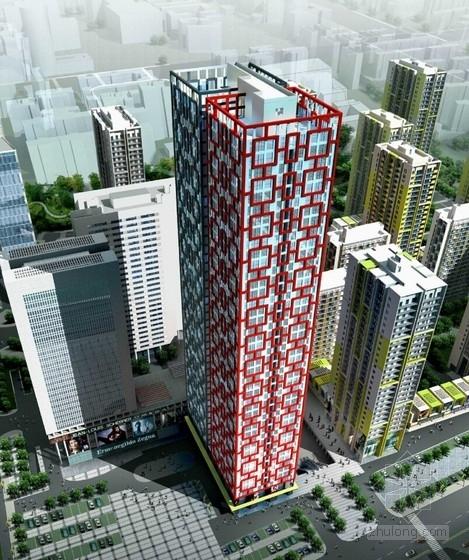 [山东]现代风格多功能城市综合体设计方案文本
