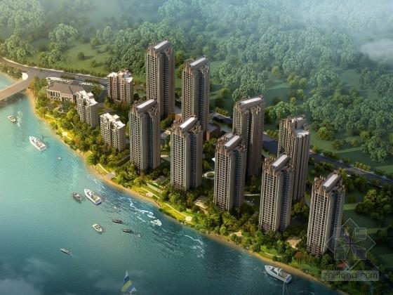 [重庆]某artdeco风格住宅小区规划设计方案文本(含CAD)