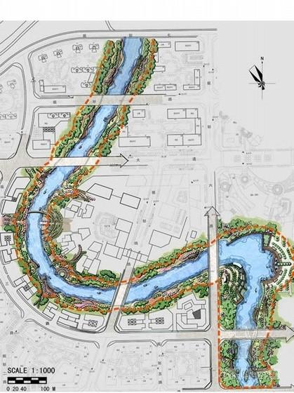 [长沙]某河道两岸驳岸设计方案