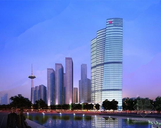 [辽宁]超高层商业综合楼采暖通风及防排烟节能设计(总96张大院出品)