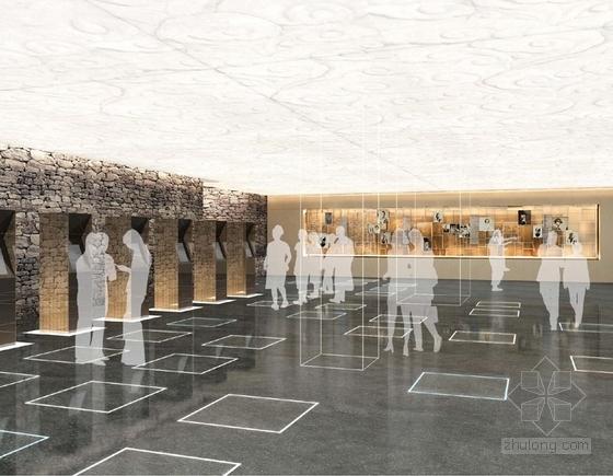 [上海]环超高层地标式摩天商务现代办公大楼设计方案观光体验效果图