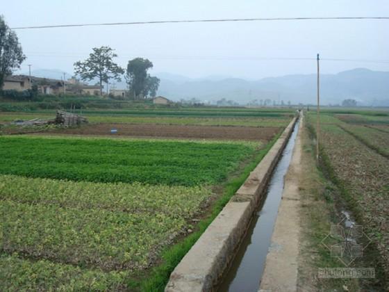 [山东]小型农田水利重点县建设工程施工组织设计