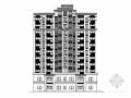 [安徽]十一层新古典风格安置区建筑施工图