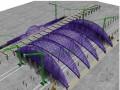 [四川]大跨度空间钢结构斜放拱航站楼工程施工组织设计(426页,鲁班奖)