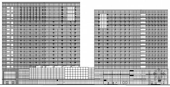 [广州惠州市]某二十层商务公寓建筑水电空调节能施工图