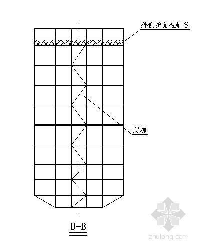 桥梁爬架模板构造示意图