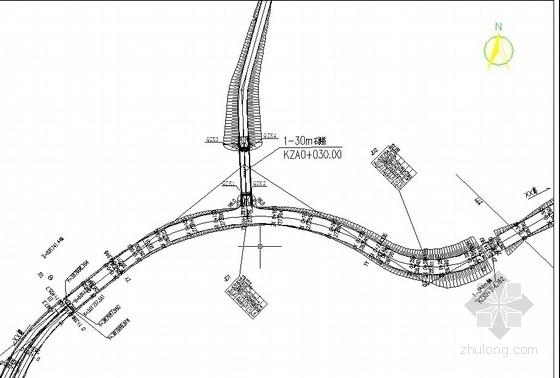 [广东]U型桥台空腹式石拱桥施工设计图(全套)