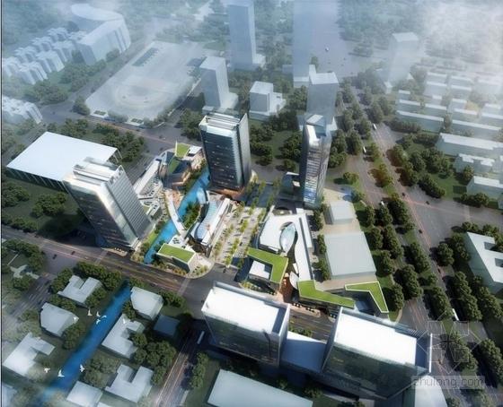 [广州]高层现代风格中高档多功能商业综合体建筑设计方案文本(国际知名设计院)