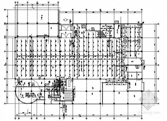 某高层建筑的裙房给排水施工图