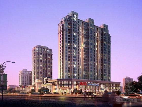 商业建筑和商住楼psd分层素材下载