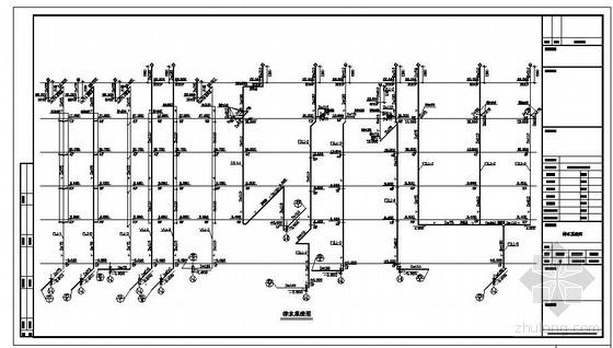 上海某大型商住楼给排水施工图-