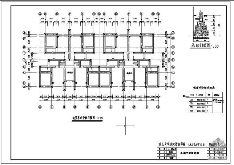 [学士]某房屋课程设计图纸_2
