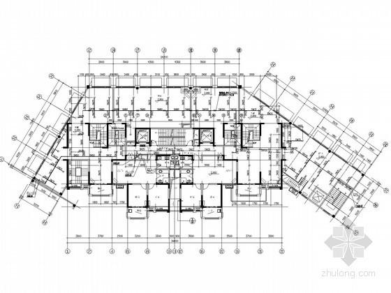 [安徽]超高层商住建筑给排水施工图(三十四层 太阳能热水)
