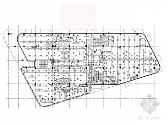 [浙江]九万平高层商业办公楼给排水施工图(太阳能热水系统 含设计说明书)