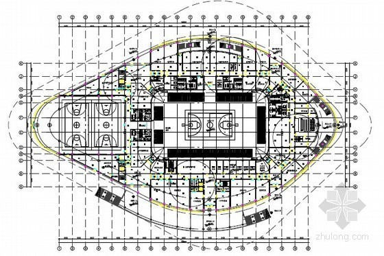 [湖北]奥体中心智能化场馆全套电气施工图纸378张(预算  方案设计)