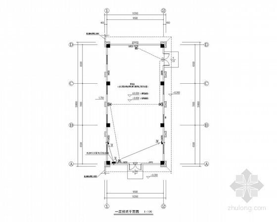 住宅楼变电站电气施工图