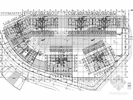 [贵州]11万平套型商住塔楼给排水图纸(大空间智能灭火 雨水收集回用)