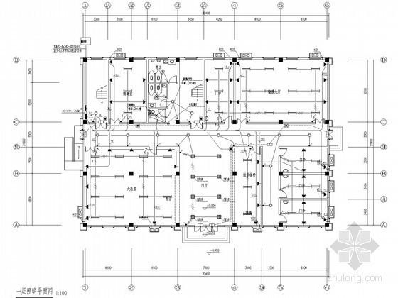 [安徽]住宅小区社区医院电气设计施工图纸62张