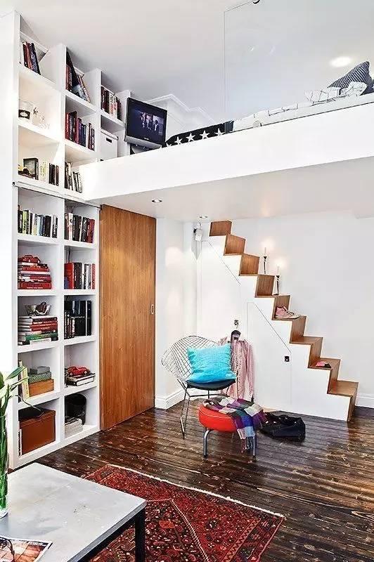 学建筑的你怎么能甘心自己的卧室和别人一样!!!_3