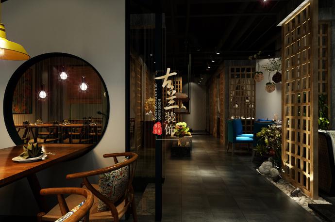 《素弥素食》-资阳酒楼设计装修,资阳酒楼设计公司-素弥素食餐厅5.jpg
