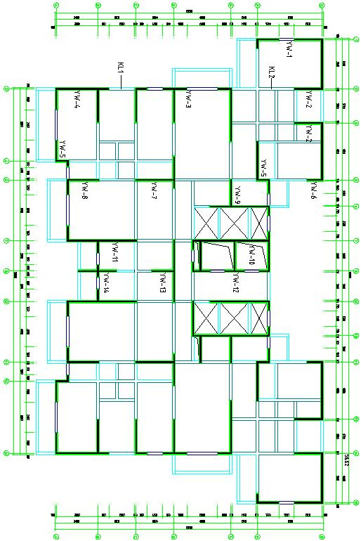 高层剪力墙结构毕业设计
