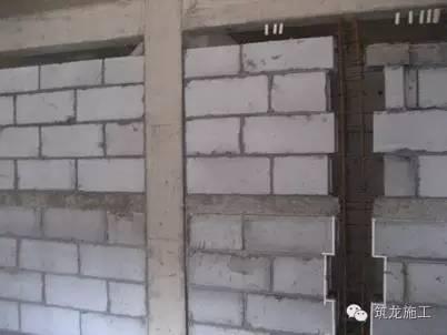 砌筑工程、墙体抹灰工程标准化做法,配图更清楚!