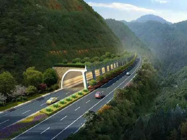文瑞高速一隧道右洞顺利贯通