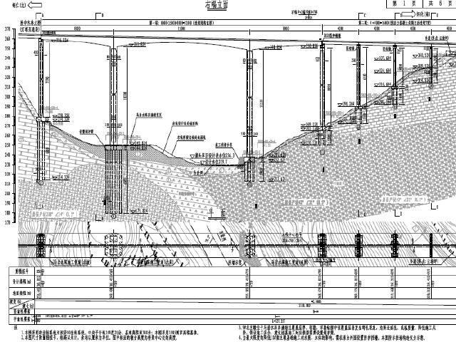 2017年主桥80+150+80m预应力连续刚构+2联预应力T梁引桥图纸307页(HRB500,C50)