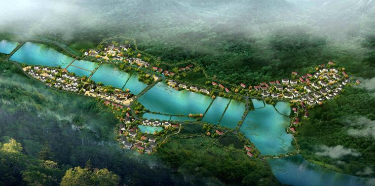 [四川]某镇泉水村村庄规划景观方案设计文本PPT(126页)_1