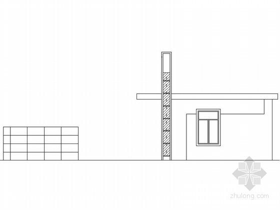 [合集]24套大门建筑施工图(学校、接待中心、公司大门、欧式)_26