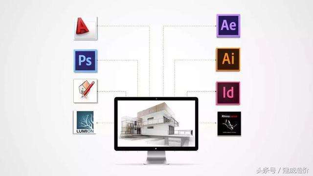 [课外了解]建筑设计师常用的9大软件,你会用哪个?