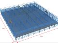 [湖北]钢筋混凝土框架+上部轻钢屋盖钢结构工程A-4/5施工组织设计