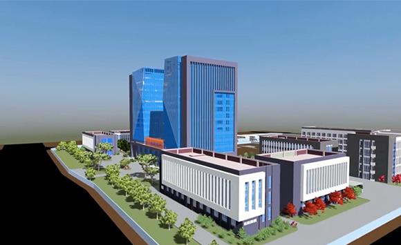 中交二公局国家级企业技术中心一期工程BIM应用