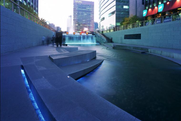 韩国ChonGae运河修复工程_5