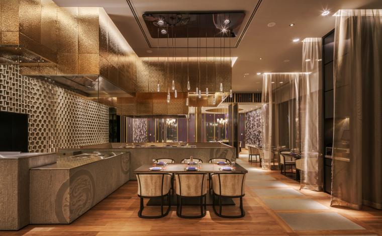 科威特四季酒店DaiForni和Sintoho餐厅