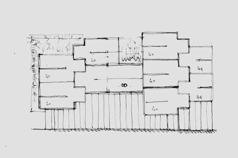 建筑师独立开发的公寓楼,真是好房子!_8