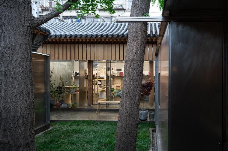 北京胡同中的工作室改造-4
