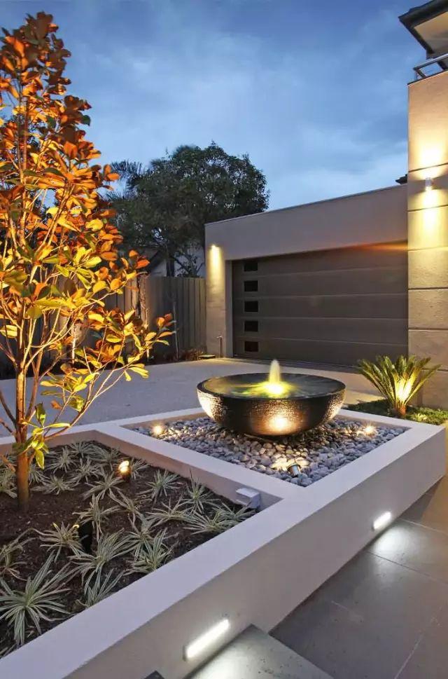 赶紧收藏!21个最美现代风格庭院设计案例_70
